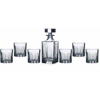 Lorren Home Trends RCR Timeless Whiskey Set Set of 7