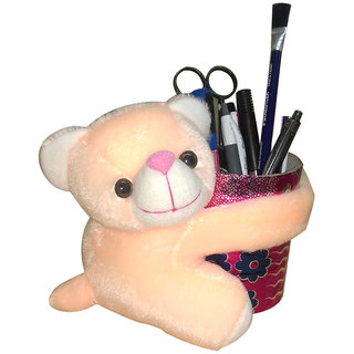 Cute Teddy  Bear --Butter  For  Curtain Holder & Other  Multiple Use