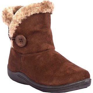 Ladies Fabric Boots