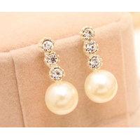 Adorzia  auger pearl earrings ADOJW0137