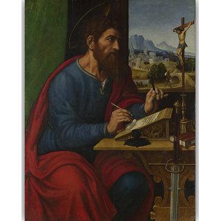 Vitalwalls Portrait Painting Canvas Art Print. Religion-383-45cm
