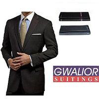 Gwalior Black Suit Length, 3 Meter
