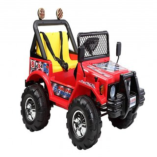 BWILD Hurricane Wide Seater Red  Yellow Jeep