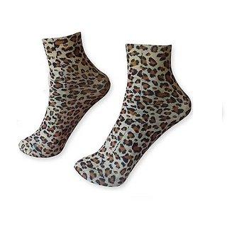 FNB Stonic Multicolor Nylon Ankle Length Socks For Women - Pack Of 2