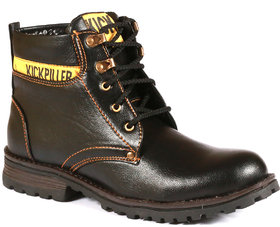 Stylos Mens Black Boots