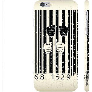 Enthopia Designer Hardshell Case Behind Bars Back Cover for Apple IPhone 6 Plus
