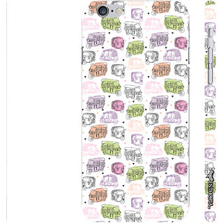 Enthopia Designer Hardshell Case Rickshaw Walla Back Cover for Apple IPhone 6 Plus