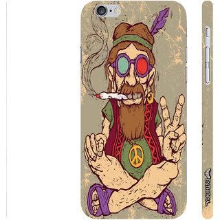 Enthopia Designer Hardshell Case Ganja Babe Back Cover for Apple IPhone 6 Plus