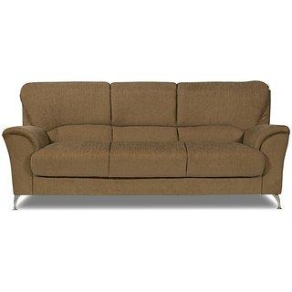 PIPER Brown Sofa Set 3 Seater