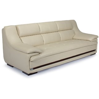 HOLA Beige Sofa Set 3 Seater