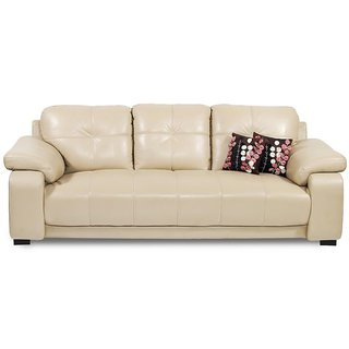 Fantastisch GLORIA Beige Sofa Set 3 Seater