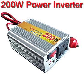 Dc 12V To Ac 220V  Usbpower Inverter.200W 200 W Watt Car Use