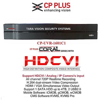 CP Plus HD DVR Standalone 16Ch. ModelCP-UVR-1601C1