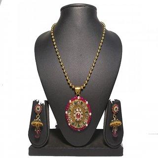 Sesmal Designer Copper Necklace