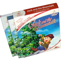 Jack And The Beanstalk Story Book  (2 Book+DVD+CD)