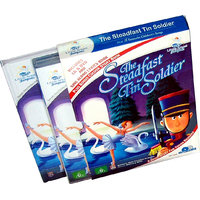 The Steadfast Tin Soldier Story Book  (2 Book+DVD+CD)