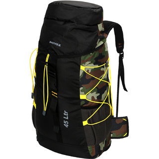 Novex Fleet 45Ltr Camouflage Hiking Bag