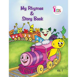 Pre-school Rhymes  Story Book - Nursery Vol-1