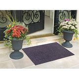 Status Pack Of 2 Black Nylon Door Mat   15X22 Inch