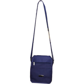 Apnav Blue Passport Sling Bag