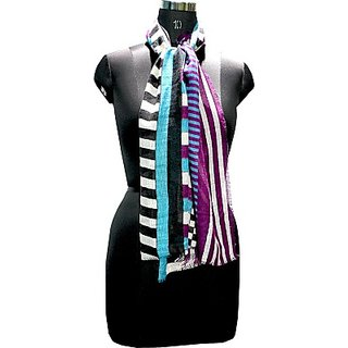 Selfiwear Multi-stripes Scarf