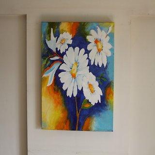 Floral Medley Acrylic on canvas