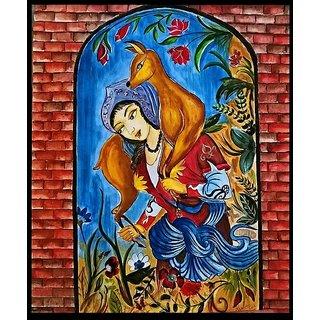 moubani sarkar artist colour painting