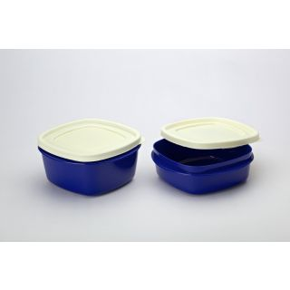 Cutting EDGE Snap Tight Storage Containers Set Of 4 Blue 2nos 1500 ml and 2 nos 2000 ml