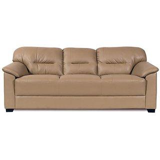 Mirly Beige Sofa Set 3 Seater