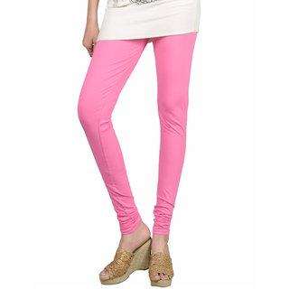 Sakhi Sang Fuchsia Pink Cotton Lycra Leggings