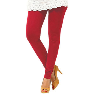 Jiya Presents Cotton Legging (Red)