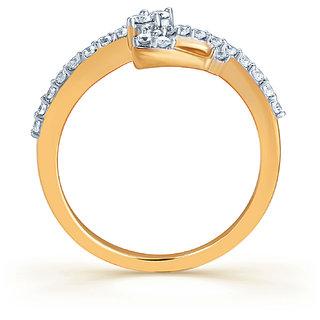 Karatcraft.In Femineo 18Kt Diamond Gold Ring.