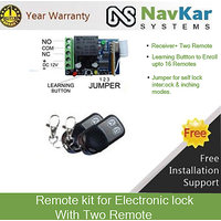 Remote Kit for Open Electronic Door Lock (with 2 Remote)
