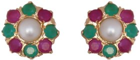 Classique Designer Jewellery Gold Plated Alloy Studs