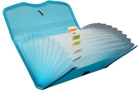 12 Pocket Multi Cheque Book Holder