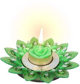 Sukkhi Bestselling Diya Candle In Fancy Green