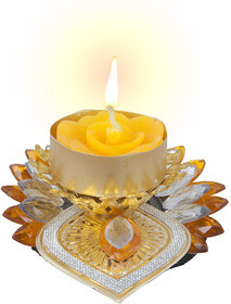 Sukkhi Best Selling Diyaa Candle In Yellow