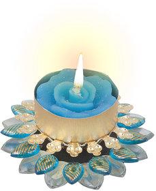 Sukkhi Exclusive Diya Candle In Blue