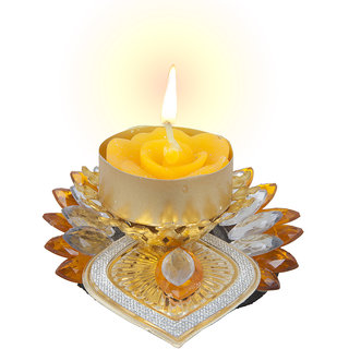 Sukkhi Best Selling Diyaa Candle In Yellow