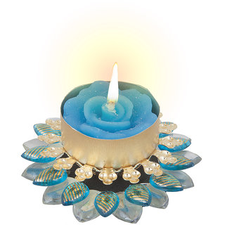 Sukkhi Exclusive Diya Candle In Blue