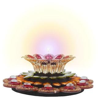 Sukkhi Gorgeous Floral Diya Candle