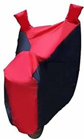 Autostark Pearl Imported Fabric Bike Body Cover Bajaj Pulsar 220 Dts-I Two Wheeler Cover Red, Blue Color