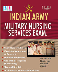 Indian Army Military Nursing Service Exam Objective Type Questions  Answers