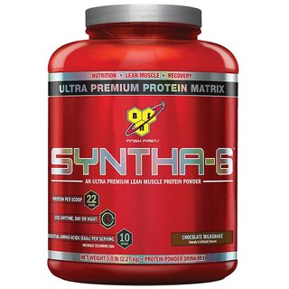 BSN Syntha-6 Protein Powder - 5 lbs (Chocolate Milkshake)