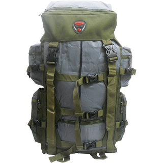 Donex High quality 43 litre Rucksack in Grey and Green Color RSC00949