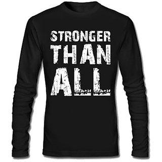 SayItLoud Graphic Print Mens Round Neck black colour 100 cotton T-Shirt