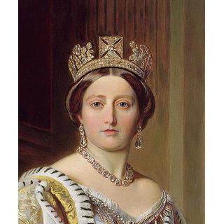 Portrait Of Queen Victoria by Franz