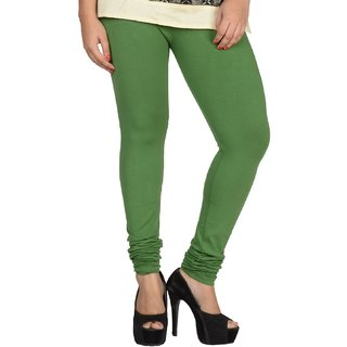Shayan Smoke Green Leggins