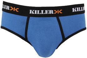 Killer Royal Blue Solid Brief (KLBRF107NS1RYB)