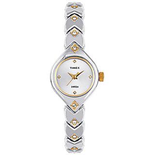 Timex Empera Analog Silver Dial Women's Watch - TI000O90300